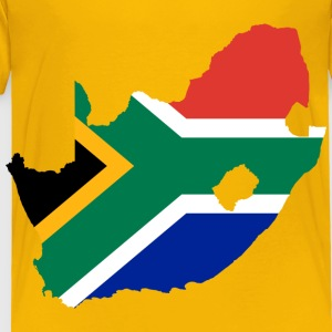 South Africa Flag Map - Toddler Premium T-Shirt
