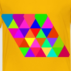 triangular tiling concept - Toddler Premium T-Shirt