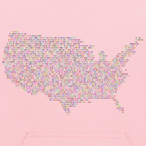 Prismatic United States Constitution Typography - Kids' Hoodie
