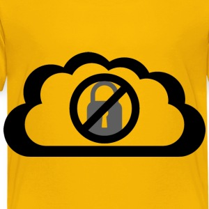 No Cloud Security - Toddler Premium T-Shirt