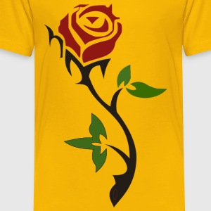 Simple Rose - Toddler Premium T-Shirt