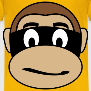 Monkey  Criminal - Toddler Premium T-Shirt