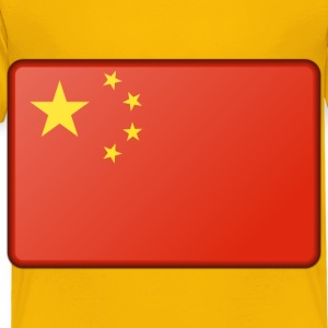 China flag (bevelled) - Toddler Premium T-Shirt