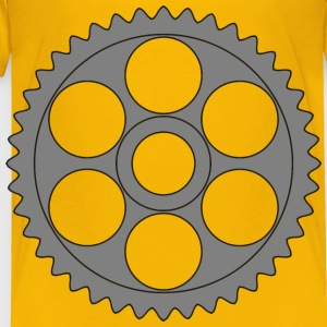 50tooth gear with circular holes - Toddler Premium T-Shirt