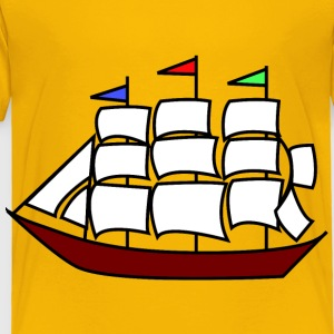 Sailing ship 11 - Toddler Premium T-Shirt
