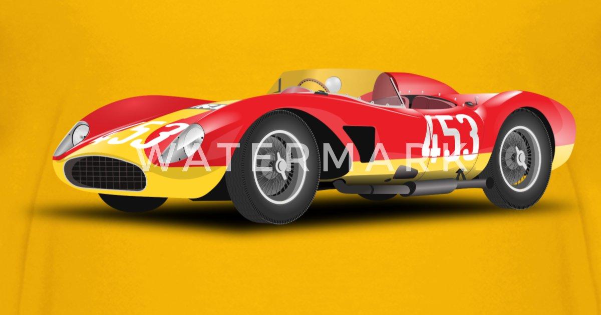 red racing car no logo t shirt spreadshirt
