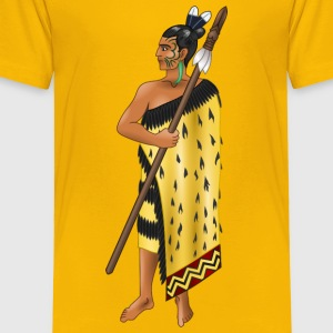 Maori warrior - Toddler Premium T-Shirt