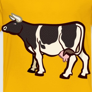 cow2 coloured - Toddler Premium T-Shirt