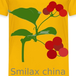 Smilax china - Toddler Premium T-Shirt