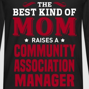 Community Association Manager MOM - Men's Premium Long Sleeve T-Shirt