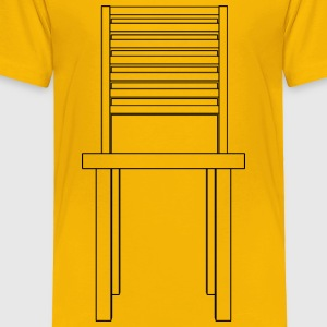Simple chair front - Toddler Premium T-Shirt