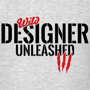 wild designer unleashed Tanks - Men's T-Shirt