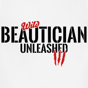 wild beautician unleashed T-Shirts - Adjustable Apron