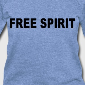 free_spirit_ - Women's Wideneck Sweatshirt