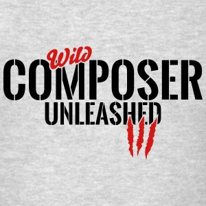 wild composer unleashed Tanks - Men's T-Shirt