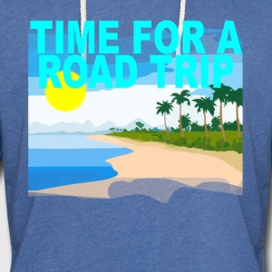 time_for_a_road_trip_ - Unisex Lightweight Terry Hoodie