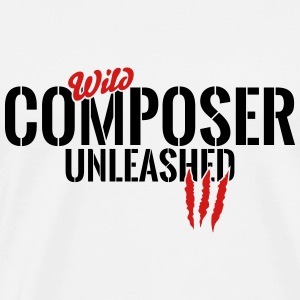 wild composer unleashed Tanks - Men's Premium T-Shirt