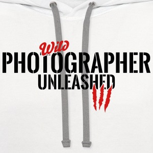 wild photographer unleashed T-Shirts - Contrast Hoodie