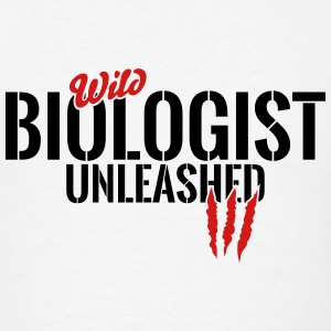wild biologist unleashed Tanks - Men's T-Shirt