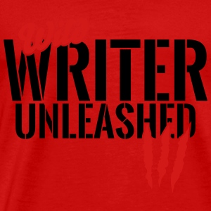 Wild writer unleashed Tanks - Men's Premium T-Shirt
