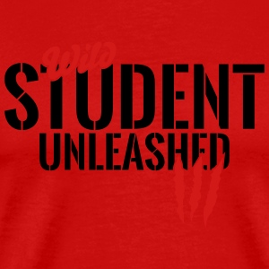 Wild student unleashed Sportswear - Men's Premium T-Shirt