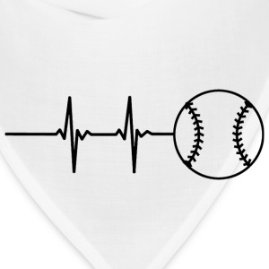Baseball Pulse T-Shirts - Bandana