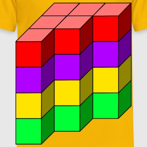 cube tower 12 - Toddler Premium T-Shirt