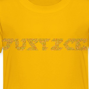 Chromatic Justice Variation 2 No Background - Toddler Premium T-Shirt