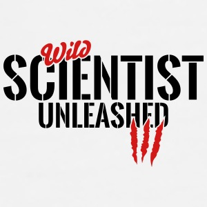 Wild scientist unleashed Mugs & Drinkware - Men's Premium T-Shirt