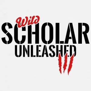 wild scholar unleashed Mugs & Drinkware - Men's Premium T-Shirt