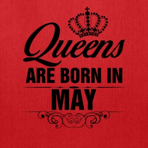 Queens Are Born In May Tshirt Tanks - Tote Bag