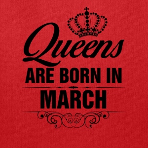 Queens Are Born In March Tshirt T-Shirts - Tote Bag