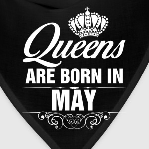 Queens Are Born In May Tshirt T-Shirts - Bandana