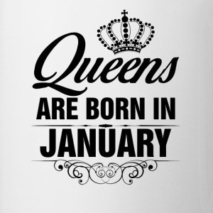 Queens Are Born In January Tshirt T-Shirts - Coffee/Tea Mug