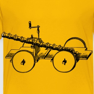 Old Chinese cannon - Toddler Premium T-Shirt