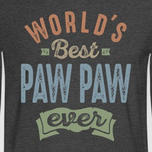 World's Best Paw Paw - Men's Long Sleeve T-Shirt
