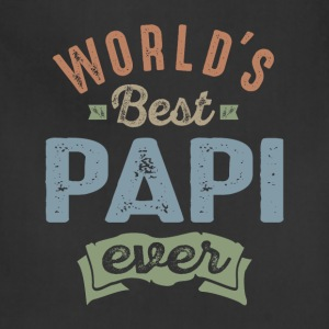 World's Best Papi - Adjustable Apron