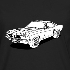cool car white Kids' Shirts - Men's Premium Long Sleeve T-Shirt