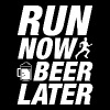 Run Now Beer Later - Men's Premium Tank