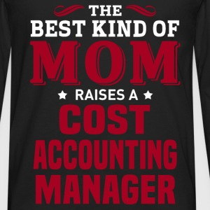 Cost Accounting Manager MOM - Men's Premium Long Sleeve T-Shirt