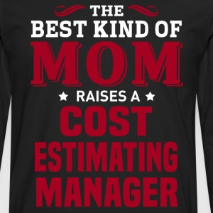 Cost Estimating Manager MOM - Men's Premium Long Sleeve T-Shirt