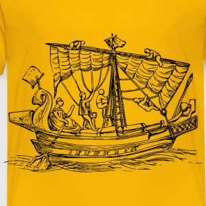 Sailing ship 6 - Toddler Premium T-Shirt