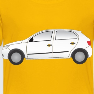 Car Side View - Toddler Premium T-Shirt