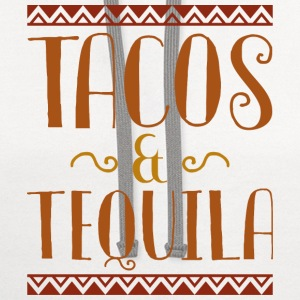 Tacos And Tequila - Contrast Hoodie