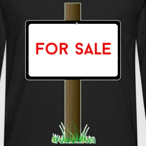 Real Estate Agent - For sale - Men's Premium Long Sleeve T-Shirt