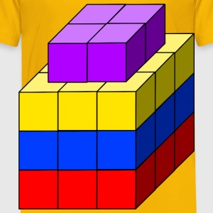 cube tower 02 - Toddler Premium T-Shirt