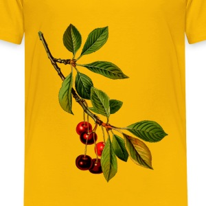 Sour cherry tree 2 (detailed) - Toddler Premium T-Shirt