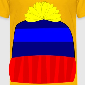 Knit Hat - Toddler Premium T-Shirt