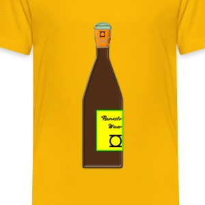 Champagne (standing) - Toddler Premium T-Shirt