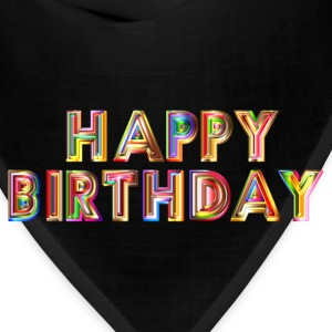 Happy Birthday Typography - Bandana